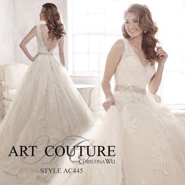 Art Coutoure brudekjole i butikk ABELONE.NO