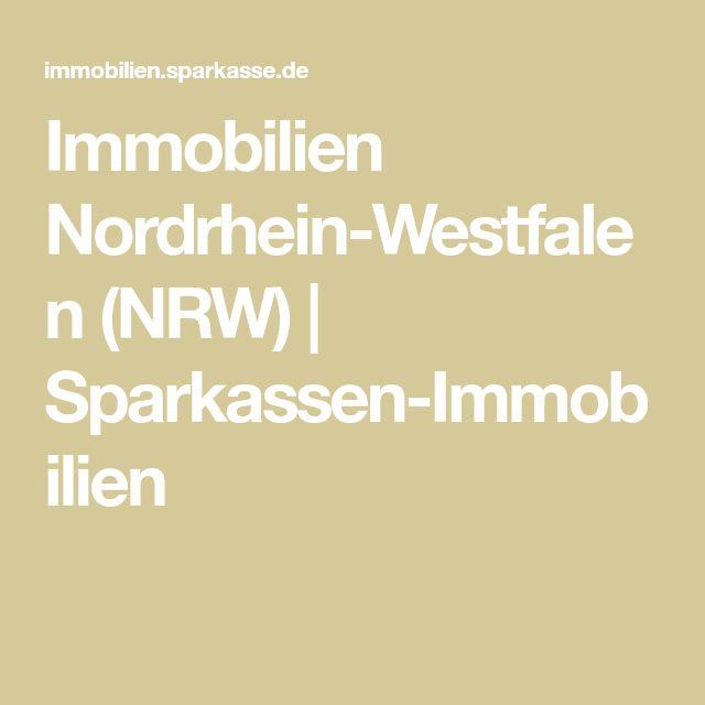 Immobilien NordrheinWestfalen (NRW) SparkassenImmobilien