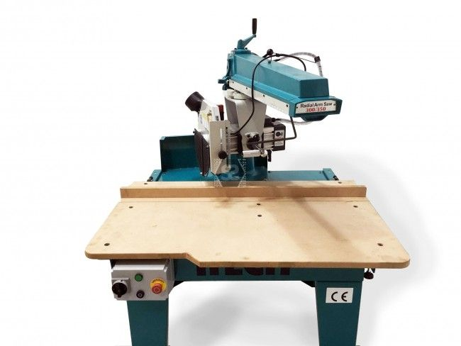 iTECH RAS350 Radial Arm Saw 6hp at Scott+Sargeant Woodworking Machinery / UK