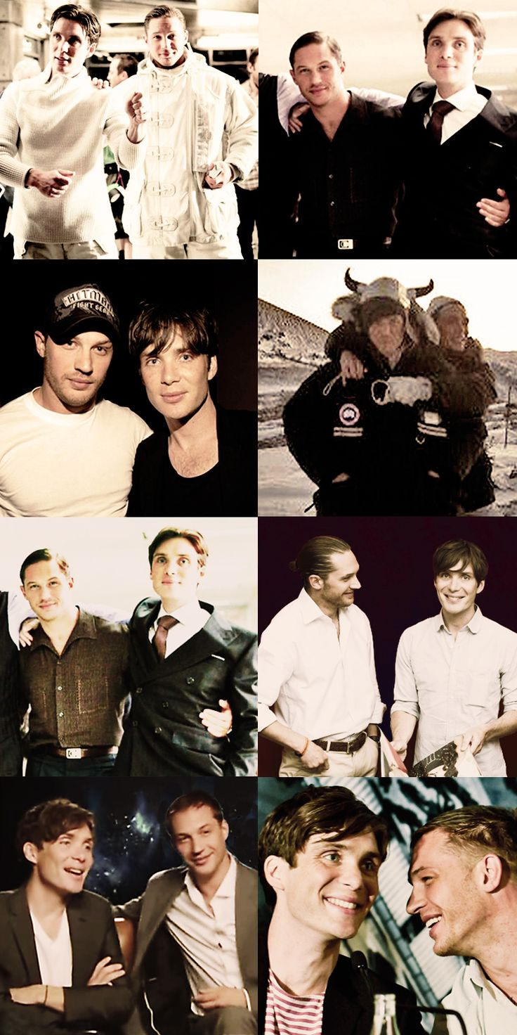 Cillian Murphy an Tom Hardy