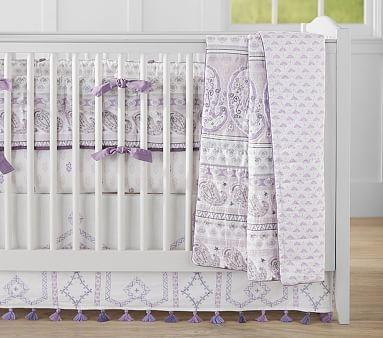 Kiera Paisley Nursery Bedding #pbkids
