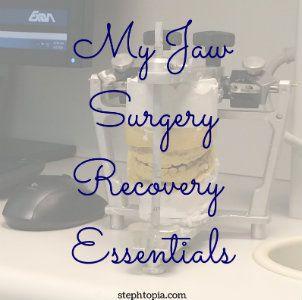 Jaw Surgery Essentials
