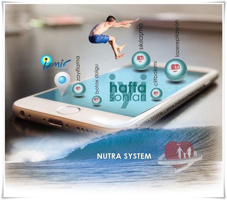 NUTRA SYSTEM | İYİ HAFTA SONLARI http://www.nutrasystem.com.tr/  #izmir #nutrasystem #lazerepilasyon #diyetisyen #beslenme #botoks #ciltbakimi #kalıcimakyaj #sıkılaşma #selülit