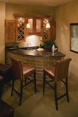Corner Bar Ideas In The Home