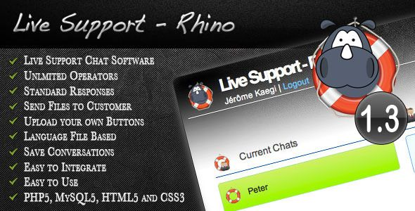 Live Support Rhino