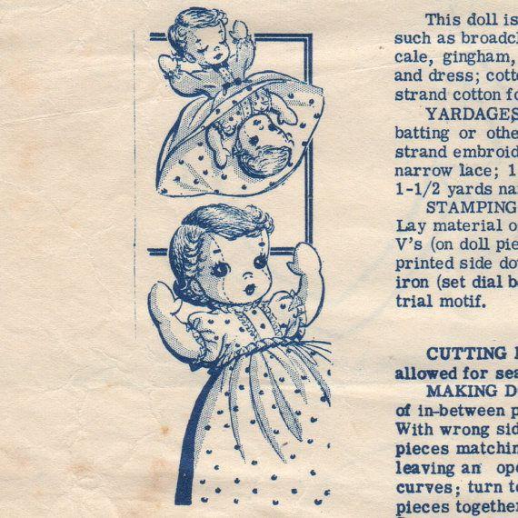41 best Vintage Toys Patterns images on Pinterest | Old fashioned ...