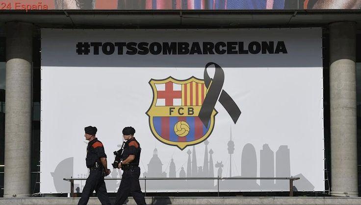Exhaustivas medidas de seguridad en el Camp Nou