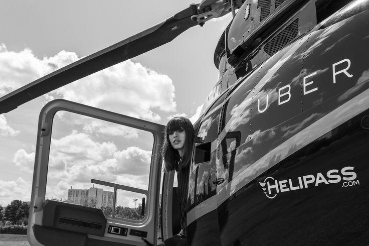 Tournage pub Helipass-Uber Festival de Cannes 2015