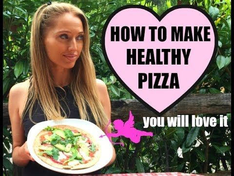How to make healthy pizza, yes it is possible and this video shows you how and what you need for ingredients are: 1 wholemeal tortilla wrap 3 big garden toma...