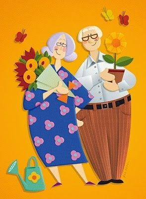 Criando e Recriando : Dia dos Avós - Lembrancinhas