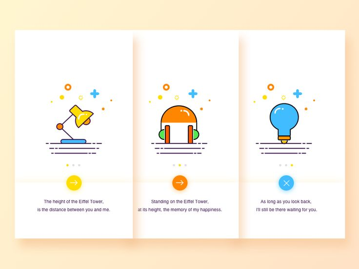 Guide page design by Baoan #Design Popular #Dribbble #shots