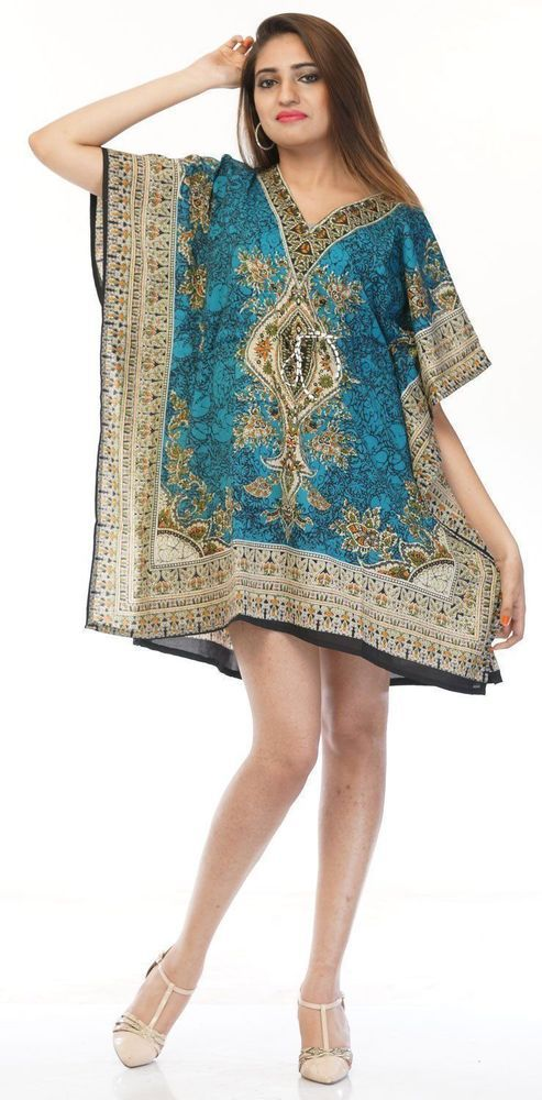a1b5f4340663d African Top s Summer Short Top Dress Beach Wear Ladies   Girls Top Short  Kaftan  fashion  clothing  shoes  accessories  womensclothing  swimwear  ad  (ebay ...