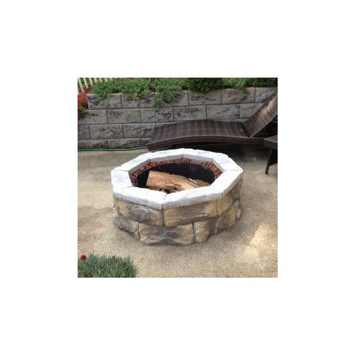 Natural Concrete Products Co Fossill Stone Fire Pit Kit
