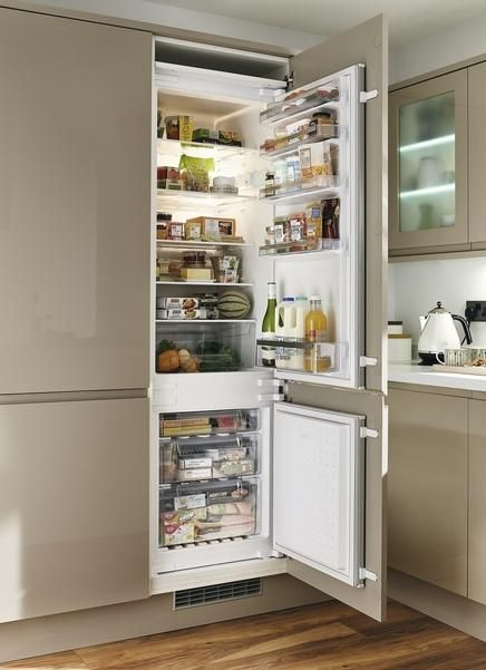 best 25 integrated fridge ideas on pinterest built in. Black Bedroom Furniture Sets. Home Design Ideas