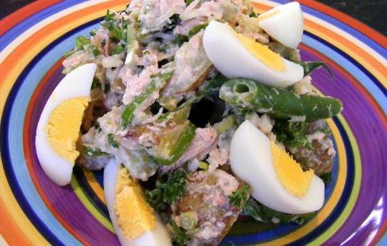 Insalata di tonno ed uova di quaglia - La ricetta di Buonissimo