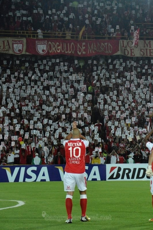 Omar Pérez #10 - Independiente Santa Fe
