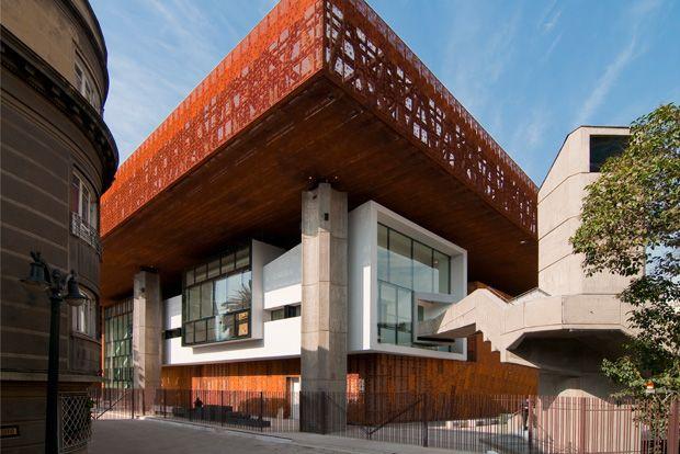 Centro Cultural Gabriela Ministral (GAM) - Cristian Fernandez Arquitectos CFA - en.presstletter.com