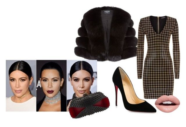 """""""Sparkle and flair"""" by erinjnolan on Polyvore featuring Harrods, Balmain, Christian Louboutin and Nevermind"""