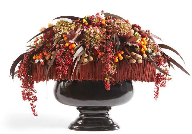 Création libre du champion du monde des fleuristes Gilles Pothier pour célébrer l'Automne #fleurs #tendance #MOF #artfloral #bouquet #automne