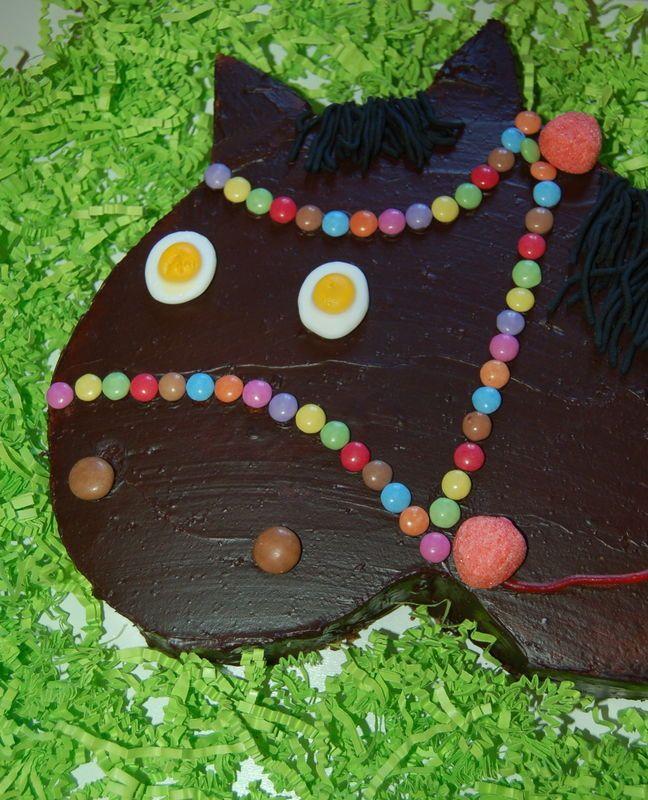 Gâteau d'anniversaire Cheval