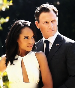 Olivia Pope and Fitz. My favorite show. If you don't watch you are Sooooo missing out!!! Best show on tv ever!