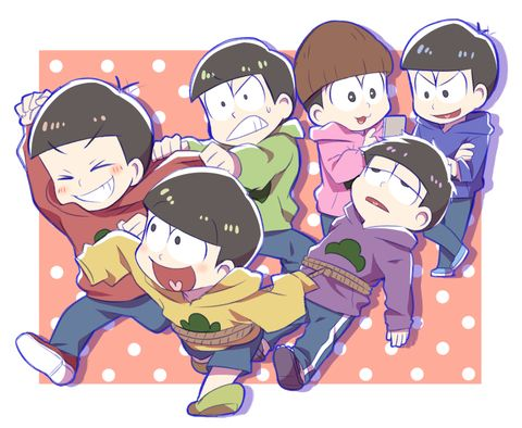 おそ松さん Osomatsu-san「六つ子さん」/「海原うな」のイラスト [pixiv] I can't tell if I would be Ichi or Choro in this picture