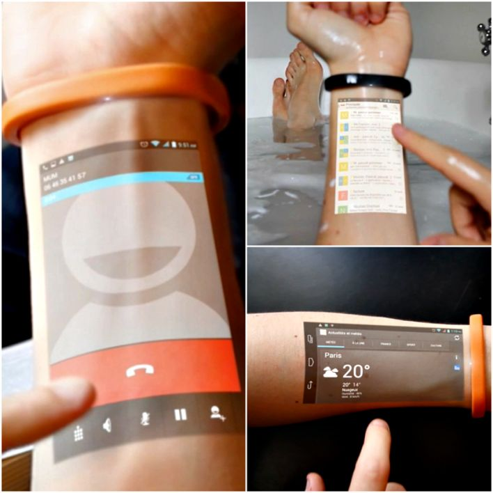 Cicret: A Wearable Projection Band That Could Be the Next Killer Gadget | TechBe…
