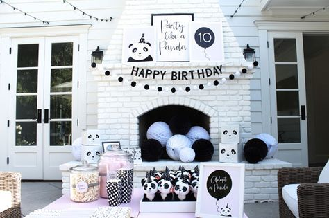 Party Like a Panda Birthday Party Adopt a Panda Station via Pretty My Party