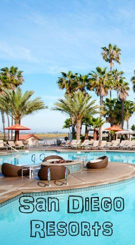 San Diego California Vacation Resorts. Family, Spa, and Golf resorts near the best beaches and things to do. ( USA Resort Reviews) Hilton San Diego Resort & Spa http://www.luxury-resort-bliss.com/san-diego-resorts.html