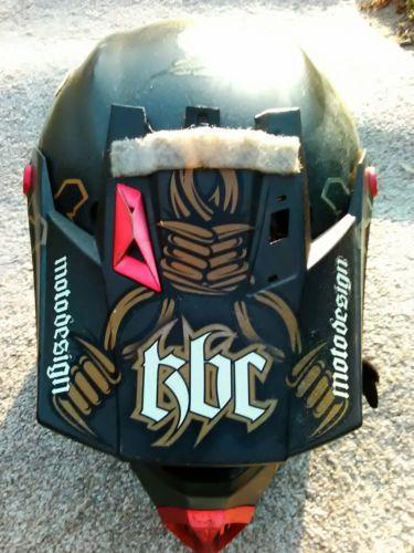 #apparel Kbc helmet large 59-60 cm motorcycle dirt bike motocross please retweet