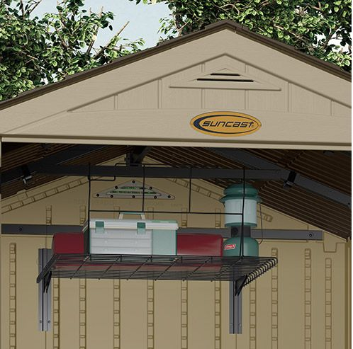 Amazing Another Top Shelf Storage Solution That Fits A Wide Variety Of Suncast Sheds !