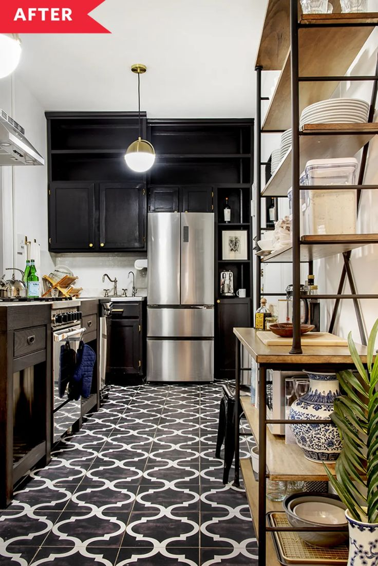 Before & After A Dated 600SquareFoot NYC Apartment Gets