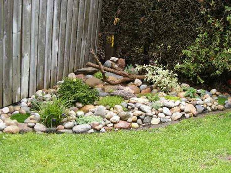 Inspiring Small Rock Garden Ideas #5 Landscaping With Rock Garden Ideas