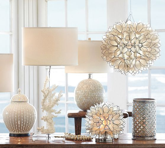 Pottery Barn Jolie Lamp: 225 Best Images About Everything Lotus! On Pinterest