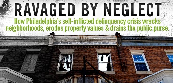 Part One: Lax property tax enforcement and brazen deadbeat investors have depressed Philadelphia's property-tax base by $ 9.5 billion