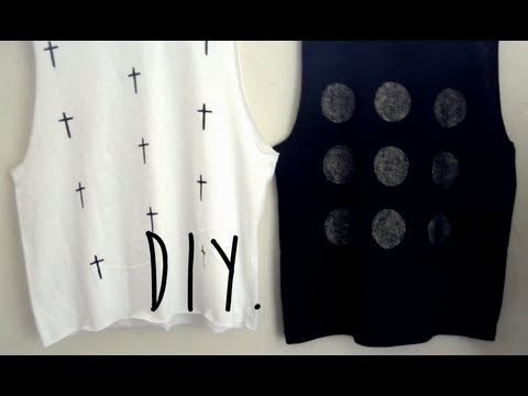 Revive Your Old Boring T-Shirts Into Stylish Tops