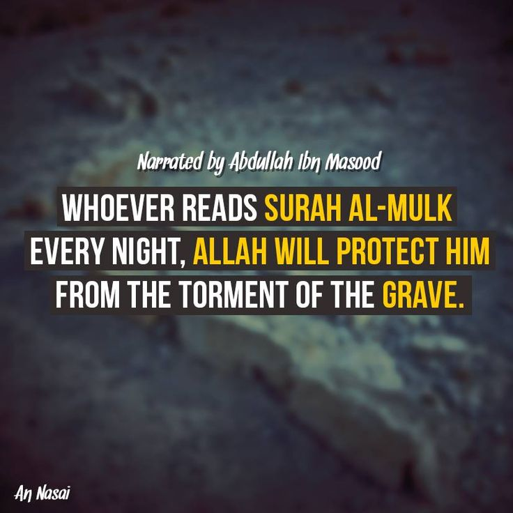 """If you're going to memorise a Surah - let it be Surah Al Mulk.  """"A Surah from the Quran containing thirty verses will intercede for a man so that he will be forgiven."""" [Tirmidhi]."""