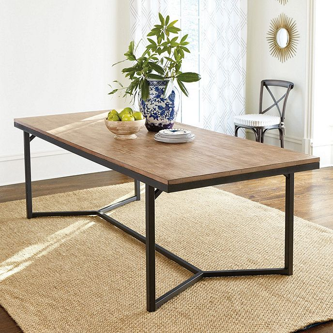 Atticus Dining Table 95 Ballard Designs Dining Table Kitchen Table Settings Dining Table Chairs