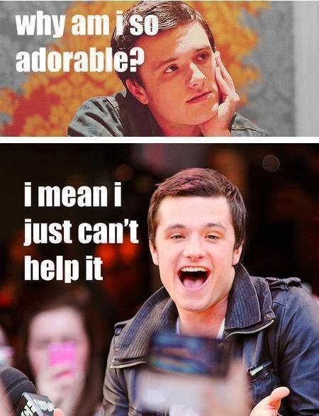 AgreedPeeta, Funny, Hunger Games, Joshhutcherson, Adorable, Jhutch, People, True Stories, Josh Hutcherson3