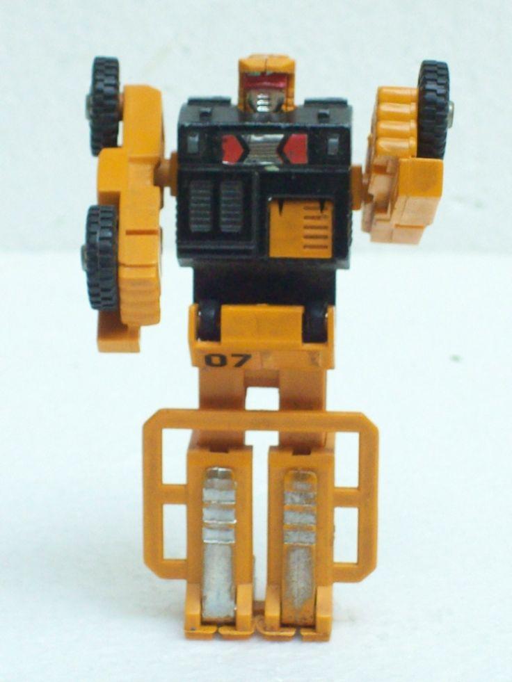 Brinquedo Antigo Mimo Transformers Empilhadeira Anos 80