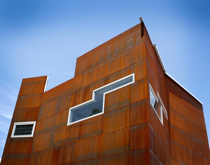 14 best vm zinc images on pinterest architecture corten - Exterior materials for buildings ...