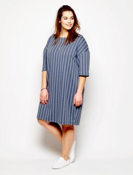 Kleid Und Top Stoff Stil Schnittmuster Kleid Große Größen
