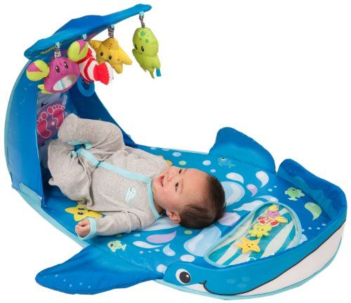Infantino Wonder Whale Kicks and Giggles Gym - Babies will love kicking their feet and watching the soft sea creatures sway. Includes an adorable water-filled pat mat, a tummy time bolster and four linkable activity toys. A fun and playful way to ... - Baby Gyms & Playmats - Baby - $59.99