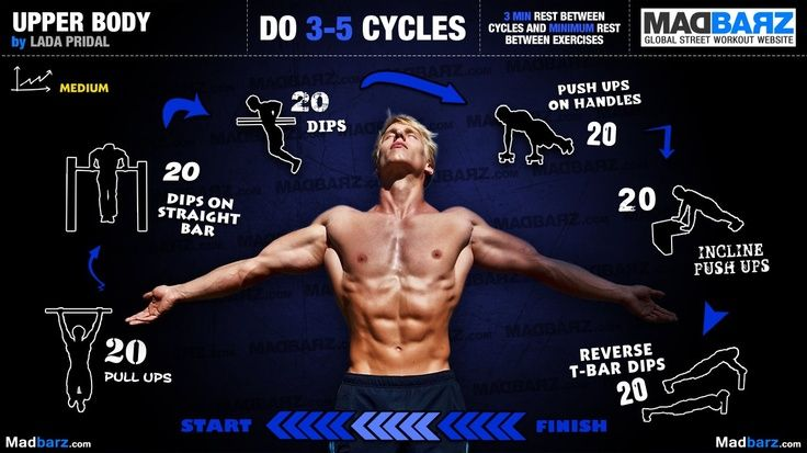 16 bar brothers intermediate workout routines for an intese calisthenics workout.
