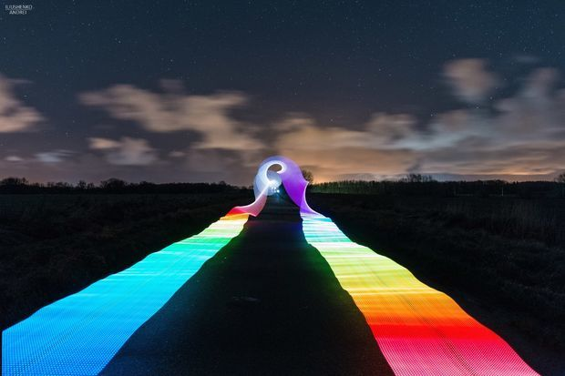 RGB LED Light Stick for Night Time Photography and Long Exposures