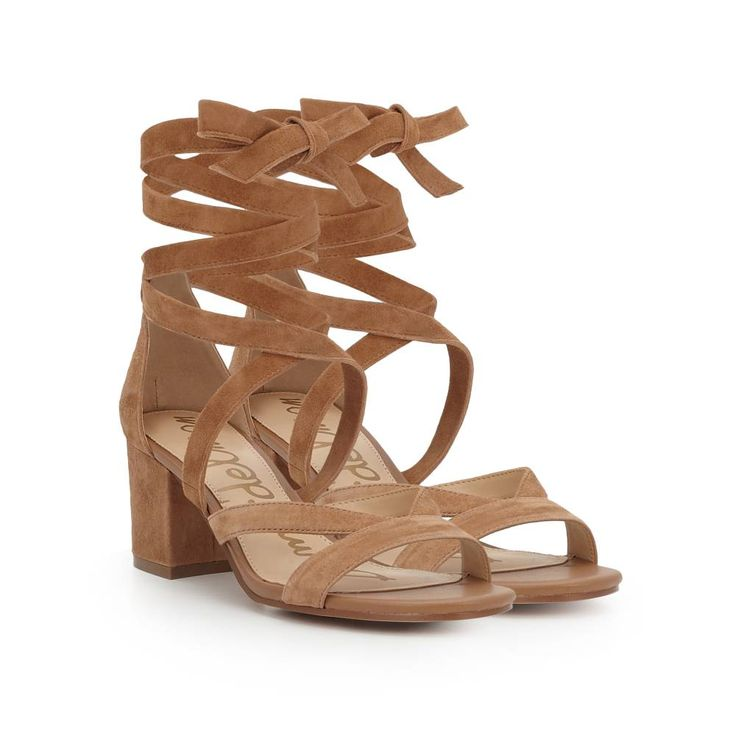 Discover the Sheri Ankle Wrap Block Heel and other Sandals by Sam Edelman.  Shop the latest styles in shoes, apparel & more online now.