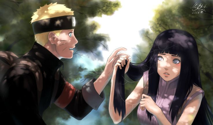 Naruto And Hinata by BlackMarlb0r0