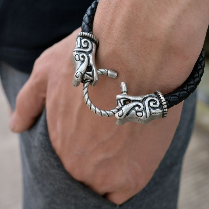 23 best Mens Vikings Bracelets images on Pinterest Vikings