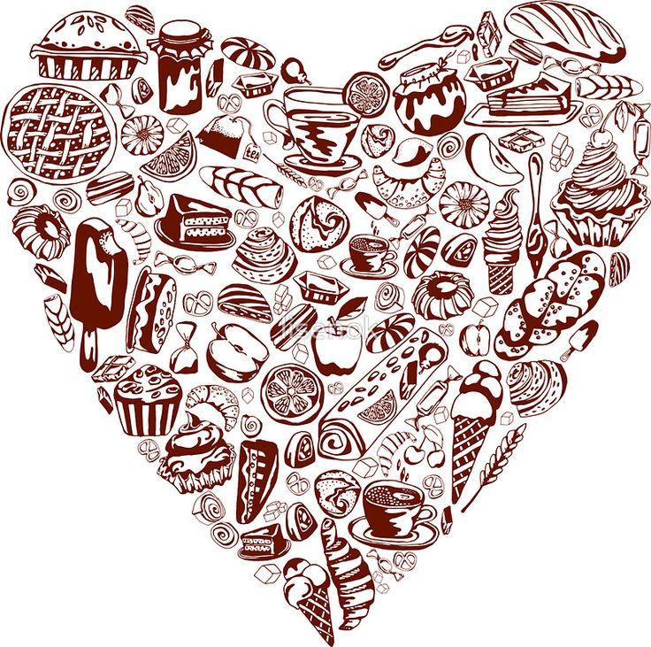 yum yum_ heart