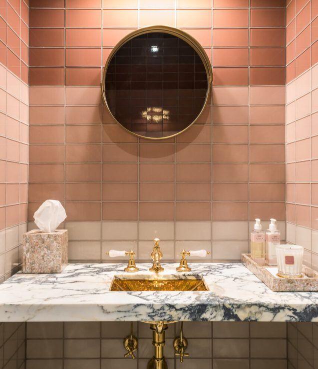 Inspiring pink bathroom accessories sets #bathroom